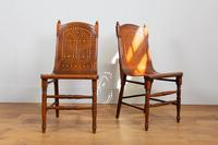 Pair Attractive Victorian Pierced Bentwood Side Chairs (4 of 14)