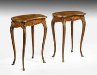 Pair of Late 19th Century Kidney Shaped Occasional Tables (4 of 8)