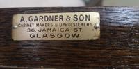 Good Quality Carved Oak Wardrobe. A Gardner & Sons, Glasgow (8 of 13)