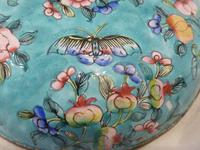 Antique Chinese Large Canton Enamel Box c.1900 - Late Qing (7 of 7)