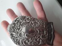 1903 Birmingham Large HM Silver Desk Paper Clip (3 of 6)