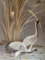 Japanese Embroidery of Cranes (12 of 16)