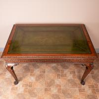 Superb Quality Mahogany Chippendale Design Writing Table (5 of 23)