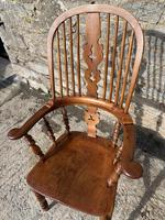 Pair of Antique Broad Arm Windsor Chairs (28 of 28)