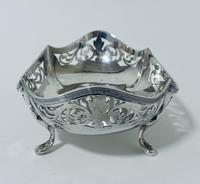 Antique Solid Sterling Silver Bon Bon Dish (4 of 12)