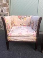 Pair of Antique English Upholstered Chairs (5 of 12)