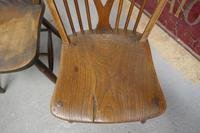 Collection of 8 Beech & Elm Country Windsor Chairs (8 of 12)