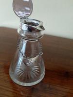 George VI Silver Whisky Noggin Decanter & Label (6 of 6)