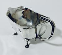 Antique Solid Sterling Silver Gravy Boat Jug (9 of 13)