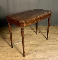 Superb French Rosewood Fold-over Top Card Table (5 of 14)