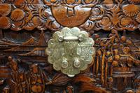 Oriental Carved Camphor Wood Chest c.1910 (7 of 12)