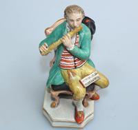 Enoch Wood - Rare Staffordshire Figure of a Flutist c.1810 (4 of 9)