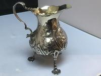 George II Solid Silver Cream Jug (3 of 6)
