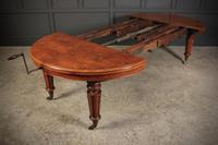 Rare & Exceptional Victorian Pollard Oak Extending Dining Table (12 of 15)