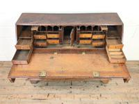 Large Georgian Oak Writing Bureau (4 of 13)