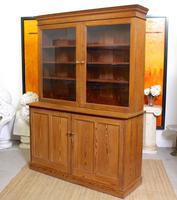 Oak Pine School Cabinet 19th Century (9 of 12)