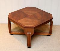 Low Walnut Art Deco Table (8 of 12)