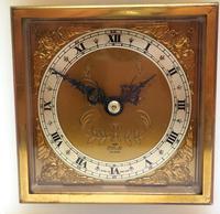 Solid Marble Vintage Mantel Clock Caddy Top Bracket Clock by Elliott of London (3 of 5)