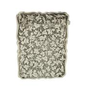 Antique Victorian Sterling Silver Card Case 1886 (7 of 9)