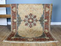 Vintage Ivory Ground Persian Medallion Rug (3 of 6)