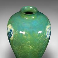 Antique Flaminian Vase, Art Nouveau, Moorcroft, Liberty, London, Edwardian, 1910 (8 of 12)