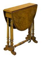 Fine Burr Walnut Sutherland Table
