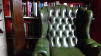Leather Libary Chair (3 of 5)