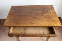 Wonderful Provincial Elm Side Table with Single Drawer (3 of 5)