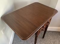 Victorian Mahogany Drop Flap Work Table (15 of 18)