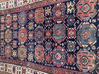 Antique Kurdish Kelleh 3.45m x 1.58m (4 of 12)