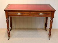 Edwardian Walnut Writing Desk
