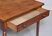 Quality George IV Mahogany Side Table (3 of 6)