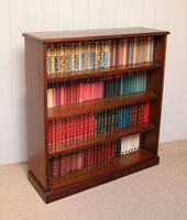 Edwardian Mahogany Open Bookcase c.1910 (11 of 11)