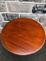 Mahogany Pedestal Wine Table (4 of 5)