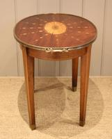 Low Inlaid Oval Table (5 of 9)