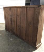 Oak Breakfront Open Bookcase (17 of 20)
