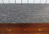 Antique Marble Top Walnut Chest of Drawers (8 of 12)