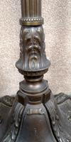 French Art Deco Bronzed Standard Lamp C1910 (6 of 11)