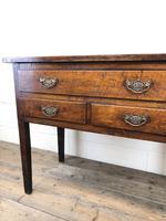 Early 19th Century Oak Lowboy Side Table (9 of 13)