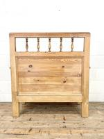 Vintage Pine Settle Bench with Storagev (10 of 10)