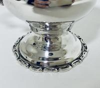 Antique Solid Sterling Silver Milk or Cream Jug Chester 1906 (8 of 11)