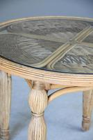 Round Cane Dining Table (8 of 12)