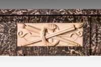 Late 19th Century Grey Marble Fireplace (4 of 6)