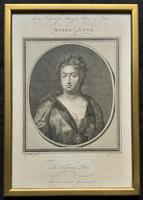 Rare Set of 12 Original 18th Century Engraving's of Kings & Queens of England (11 of 18)