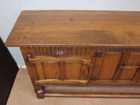 Antique Oak Sideboard Dresser Base Server (11 of 11)