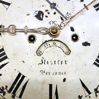 Painted Pine Cornish Longcase Clock (7 of 11)