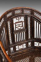 Regency Period Pavilion Cane Armchair (4 of 6)