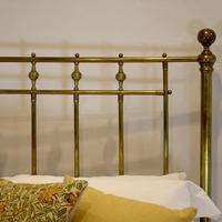 All Brass Antique Bed (3 of 6)