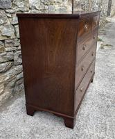 Small Antique Georgian Mahogany Chest of Drawers (5 of 16)