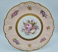 Vintage German Porcelain Plates / Chargers Bavarian /Set of Three (22 of 32)